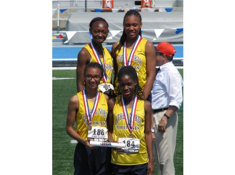 State Champion 800m Relay Team
