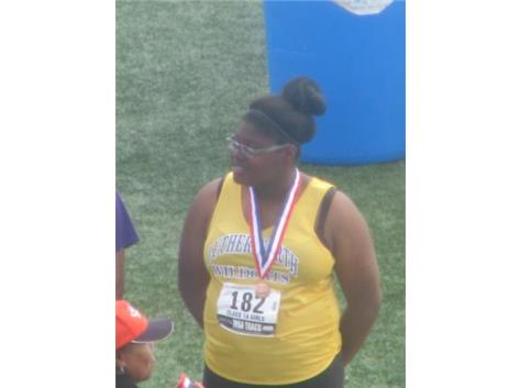 Ariel Shumaker - 9th place - IHSA State Shot Put