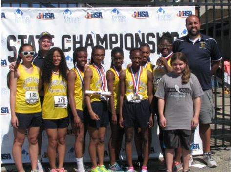 6th Place Team - IHSA State Track and Field Meet
