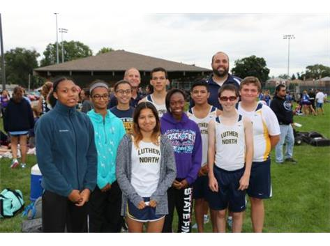 2015 Wildcat Cross Country Team