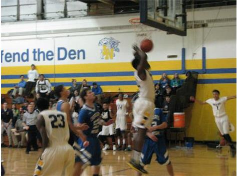 Allen Obazee - flushing the dunk!