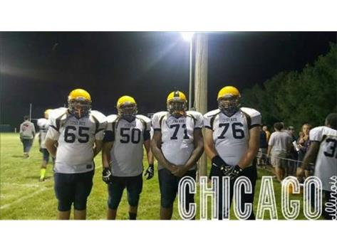 A Few of the Luther North Lineman