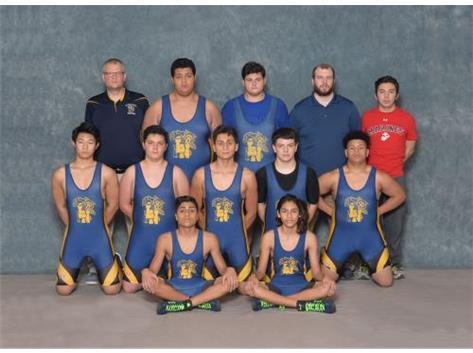 2016-17 Wrestling Team