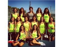 Varsity Girls Tennis 2015