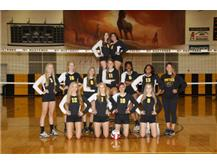Girls JV Volleyball 2016