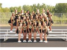 Fall JV Cheerleading 2017