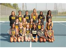 JV Girls Tennis 2017