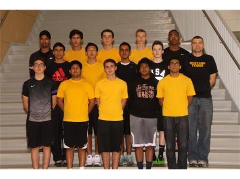 Varsity Boys Tennis 14/15