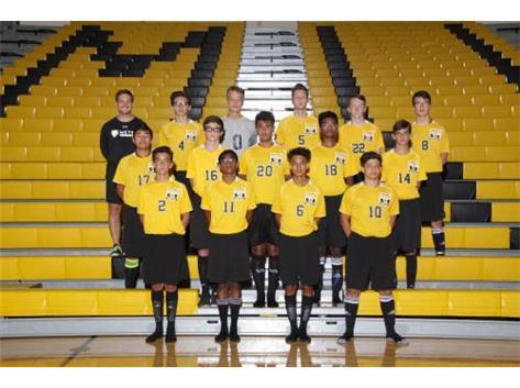 JV2 Boys Soccer 2016