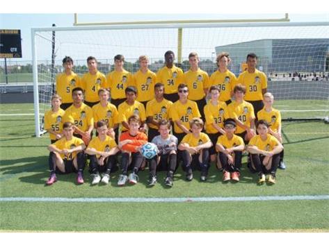 Freshman Boys Soccer 2017