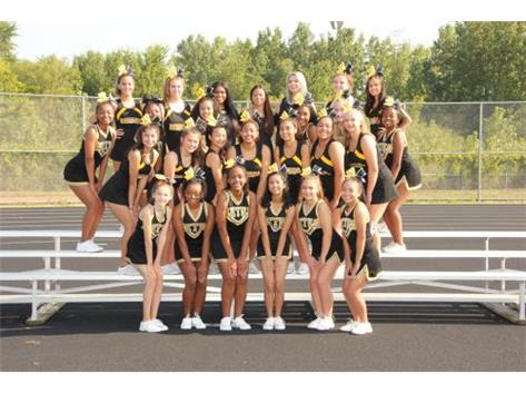 Fall JV Cheerleading 2017