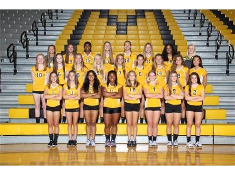 Freshman Girls Volleyball 2017