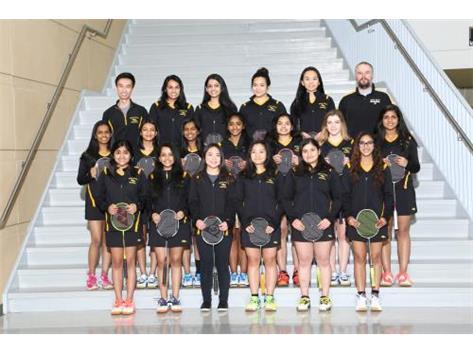 Varsity Badminton 2018