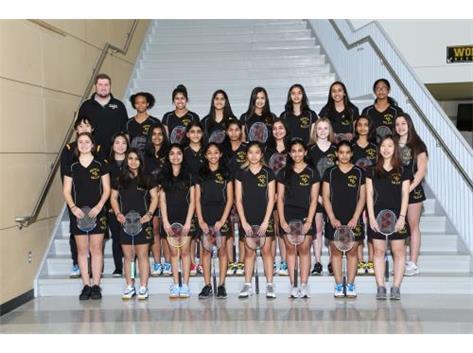 Freshman Badminton 2018
