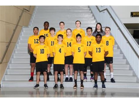 JV Men's Volleyball 2018