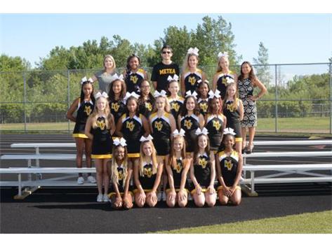 JV Cheerleading 2019