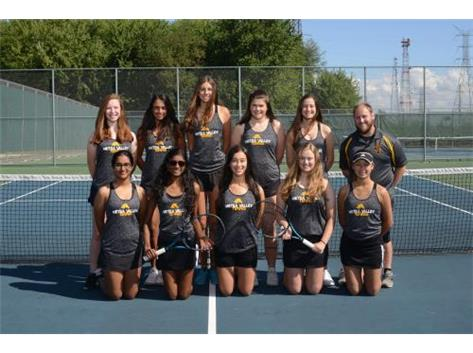 Varsity Girls Tennis 2019