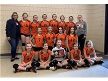 7th grade Volleyball wins United Tournament