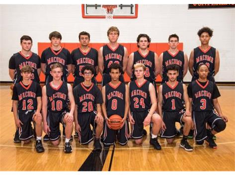2019 Boys Varsity Basketball Team