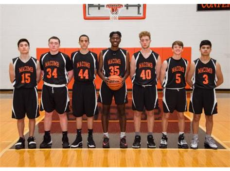 2019 Sophomore Basketball Team