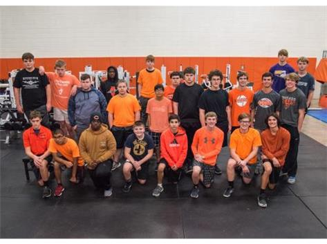 19-20 Varsity Wrestling Team