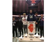 Daniel Renshaw 5th Place I.H.S.A. Class 2A 220 pounds