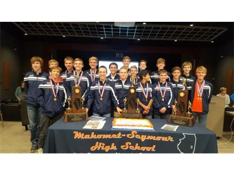2016 I.H.S.A. Class 2A Cross Country State Champions