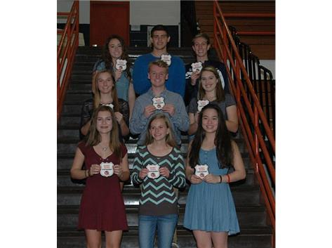 Fall 2016 Sportsmanship Award Winners