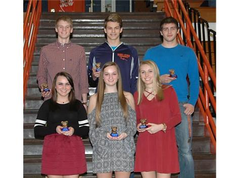 Winter 2017 Bulldog Award Winners