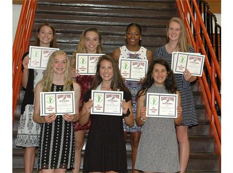 Spring 2017 Girls Track and Field All-Conference
