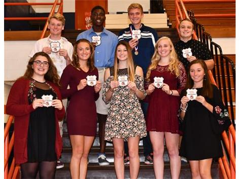 Fall 2017 Sportsmanship Award Winners