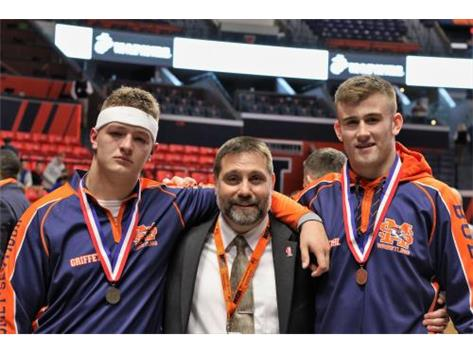 2018 All- State Wreslters and Grand Marshall Coach Rob Ledin
