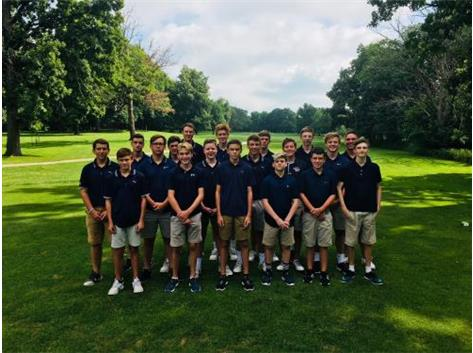 Fall 2018 Boys Golf