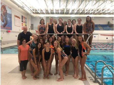 Fall 2018 Girls Swimming and Diving