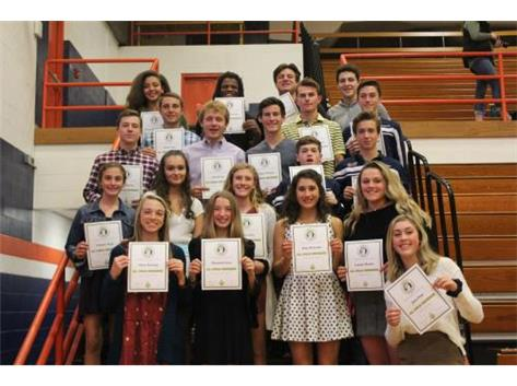 Fall 2018 Apollo Conference All -Conference Award Winners