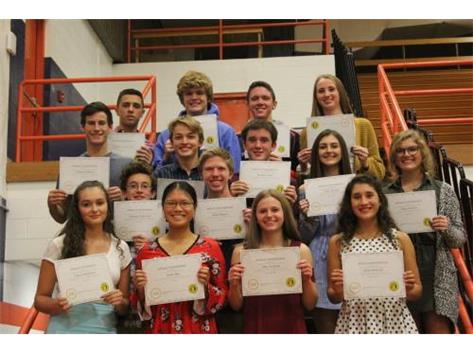 Fall 2018 Apollo Conference Academic All -Conference Award Winners