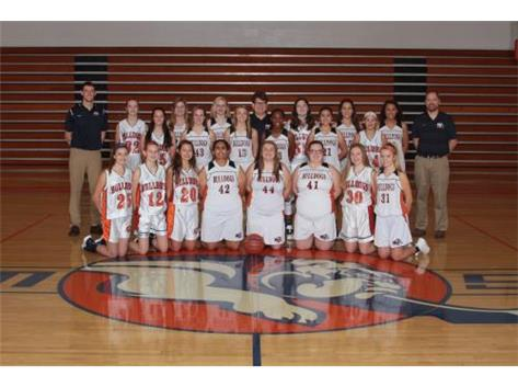 2018 - 2019 Junior Varsity Girls Basketball