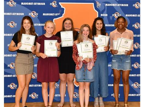 Spring 2019 MSHS Girls Track Apollo-All Conference