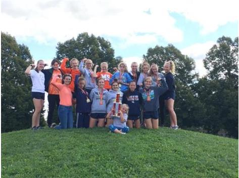 Girls Cross Country 2019 Charleston  Invitational Champions