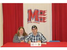 Congratulations to Blake Peterson who has committed to attend Clarke University- Football.