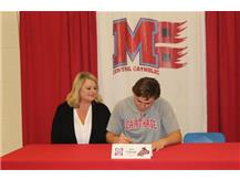 Congratulations to Sam Limbaugh who has committed to attend Carthage College- Football.