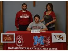 Congratulations to Luke Silva who has committed to Coe College-Wrestling.