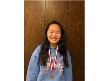 Fencing 2018-2019: Jr. Emily Markowski earned 8th Place at Stevenson Invite.