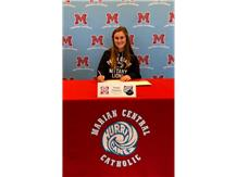 Congratulations to Maggie Finnegan who signed her letter of intent to play softball at Penn State University