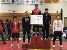 Dylan Connell - Batavia Invite 1st Place (160lbs)