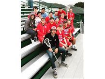 Varsity Lacrosse Team 4/25/2019