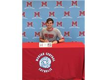 Congratulations to Pattrick Kelly for signing his letter of intent to attend Rose-Hulman Institute of Technology to play football.