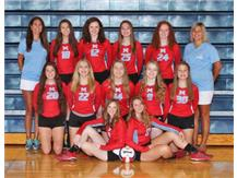 Girls JV Volleyball 2019-2020