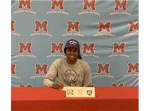 Congratulations to Janelle Allen who signed her Letter of Intent (Basketball) to attend College of the Holy Cross