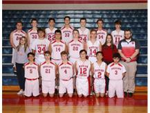 2019-2020 Boys Freshman Basketball Team.